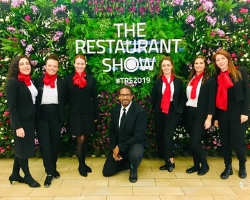 The Restaurant Show living wall