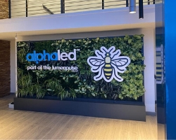 Living Wall with Logo